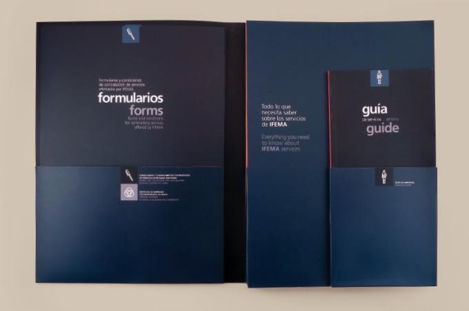 Messe Madrid Broschüre